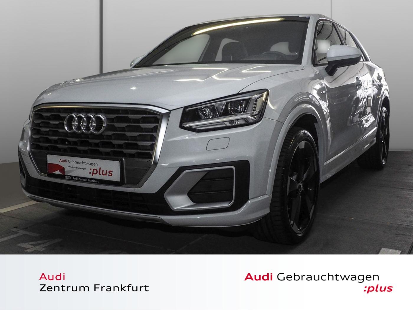 Audi Q2 30 TDI S line LED PDC Sitzheizung Tempomat Bl, Jahr 2019, Diesel