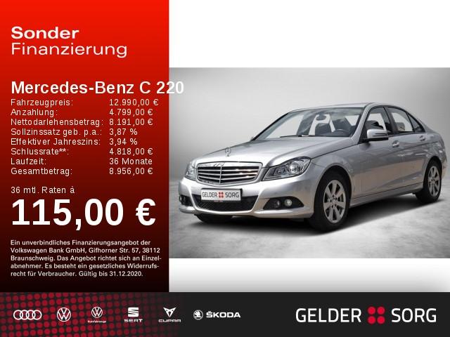 Mercedes-Benz C 220 CDI Classic Edition *NAVI*SHZ*PDC*ALU*, Jahr 2013, Diesel