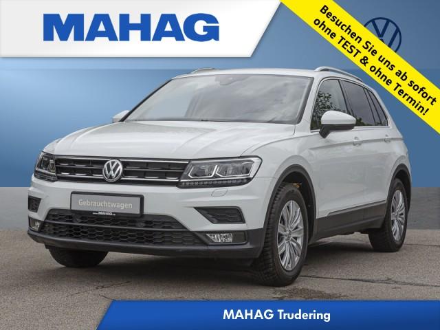 Volkswagen Tiguan 1.4 TSI Comfortline AHK Navi Klima Einparkhilfe Kamera Fahrerassistenz 6-Gang Schaltgetriebe, Jahr 2017, Benzin