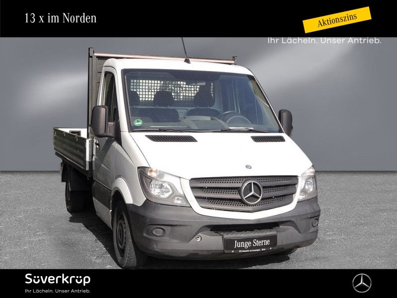 Mercedes-Benz Sprinter 313 CDI/L2/Pritsche/AHK, Jahr 2014, Diesel