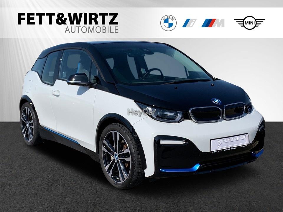 BMW i3 s 94Ah Navi LED DA+ GSD Schnell-Laden SHZ PDC, Jahr 2018, Elektro