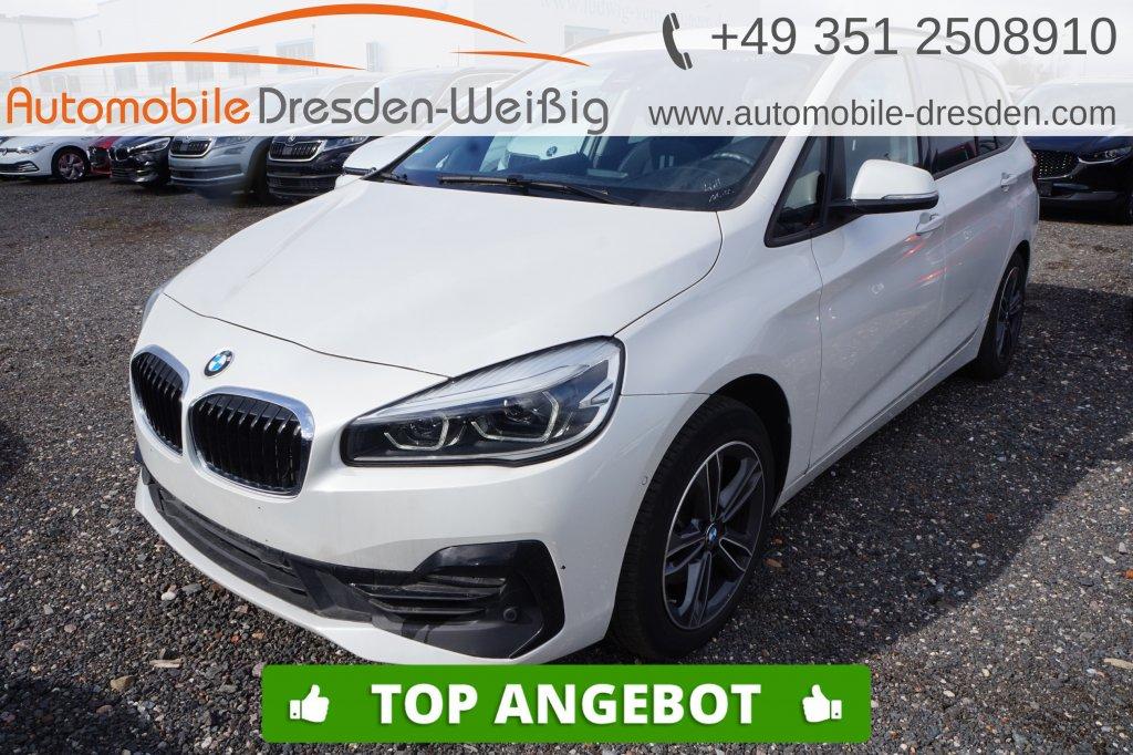 BMW 216 Gran Tourer i Sport Line*Navi*UPE 40.440€, Jahr 2019, Benzin