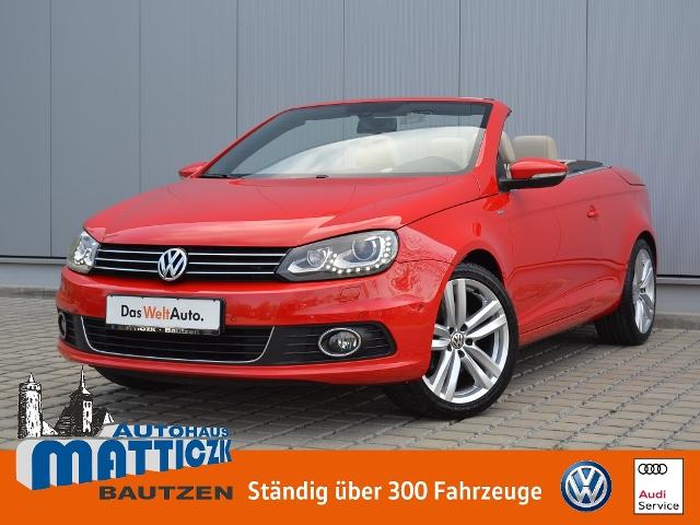 Volkswagen Eos 2.0 TDI BMT CUP/XENON/OPEN-SKY/NAVI/LEDER/18, Jahr 2014, Diesel