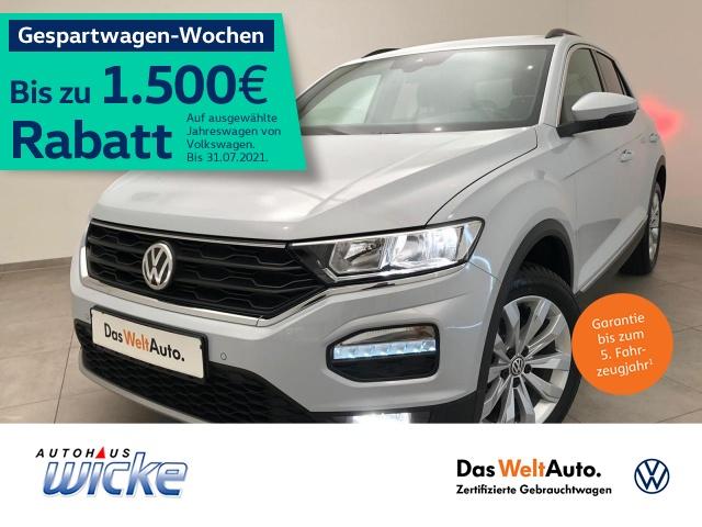 Volkswagen T-ROC 1.5 TSI Sport ACC Navi Klima PDC Sitzhzg, Jahr 2020, Benzin
