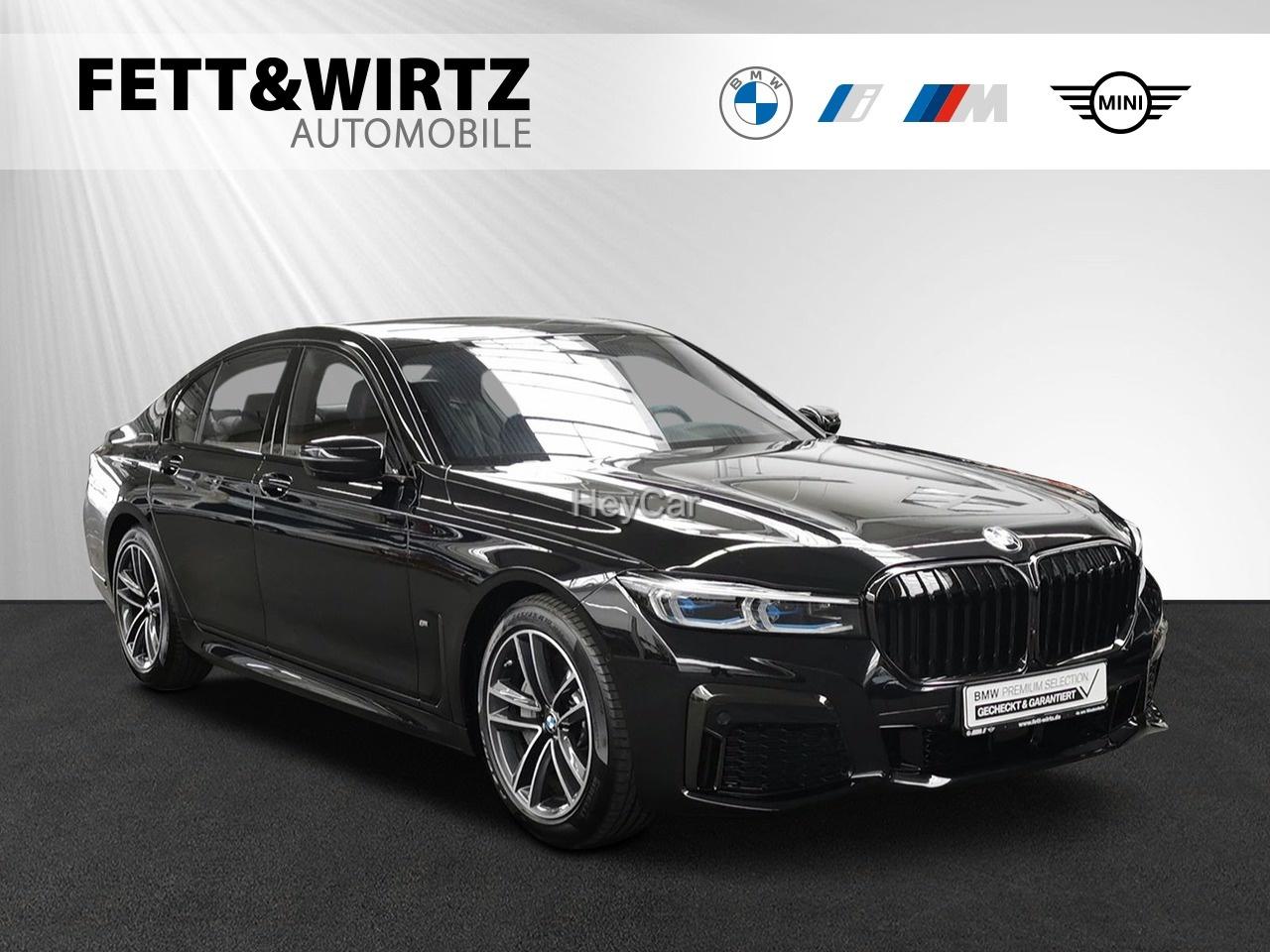 BMW 745e M Sport H/K DA-Prof. Laser Komfort+Lüft., Jahr 2020, Hybrid