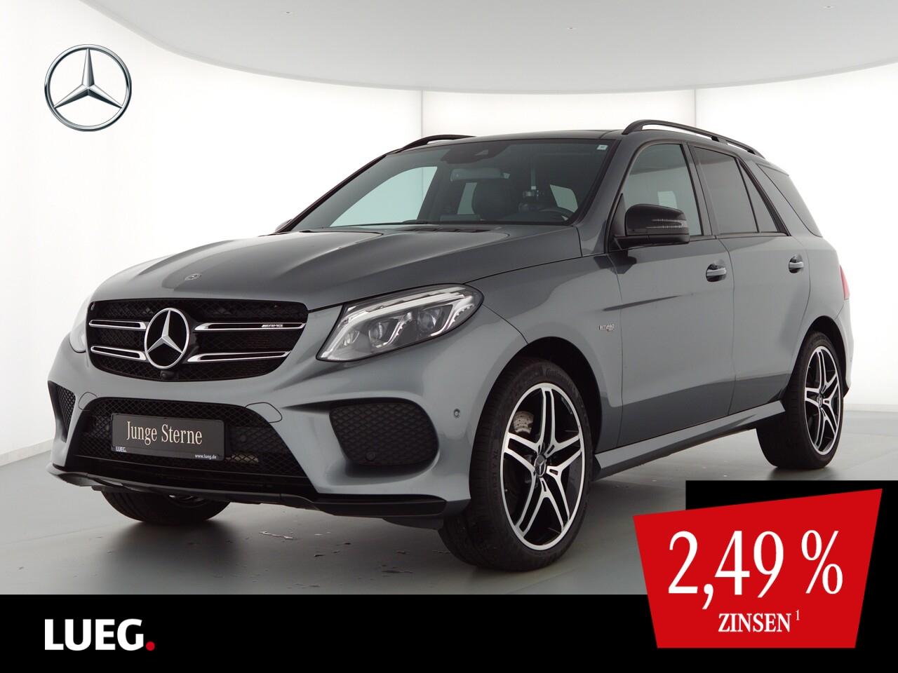 Mercedes-Benz GLE 43 AMG 4M COM+Pano+LED-ILS+21''+H&K+Airm+360, Jahr 2018, Benzin
