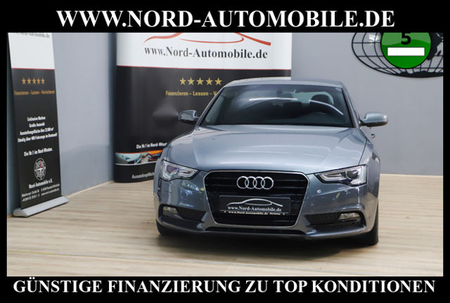 Audi A5 Sportback 2.0 TDI*Teilleder*Navi*Xenon*APS*, Jahr 2013, Diesel