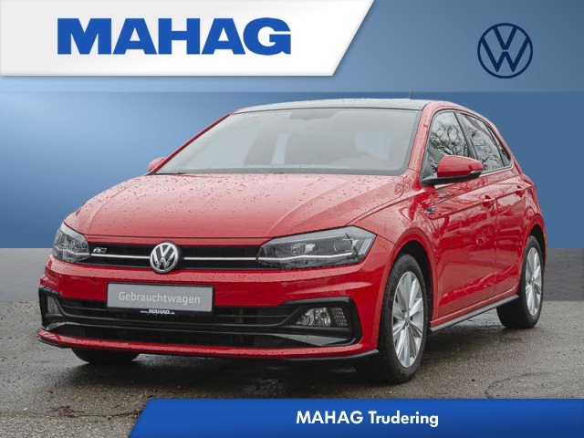 Volkswagen Polo 1.6 TDI BMT Highline R-line Ext./Panorama/LED/PDC/MFA/Style/ALU/Sitzheizung/Bluetooth 5 Gang, Jahr 2018, Diesel