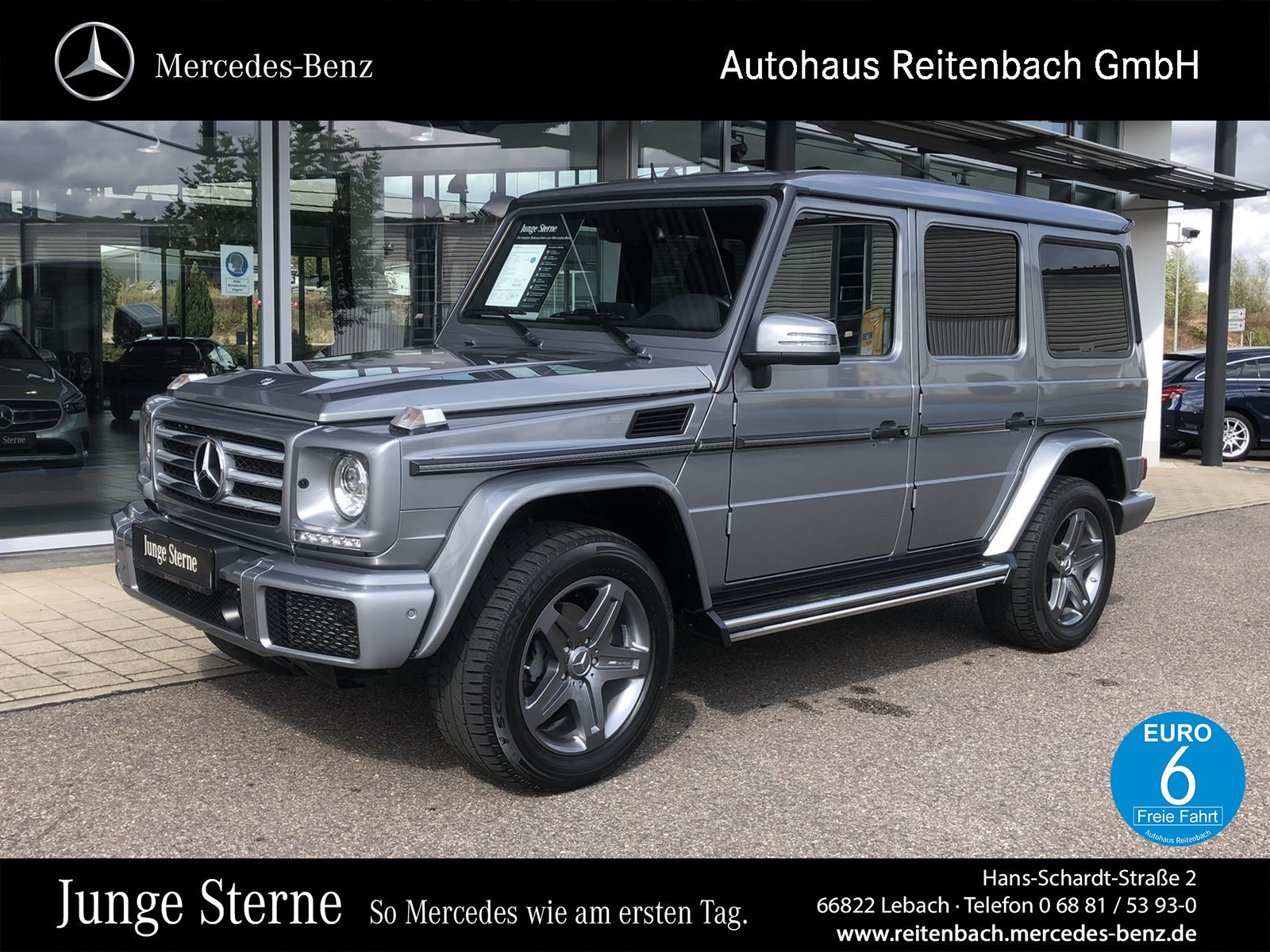 Mercedes-Benz G 350 d+SPORT+DISTR+STANDH+AHK +NAVI+KAMERA+SHD, Jahr 2017, Diesel