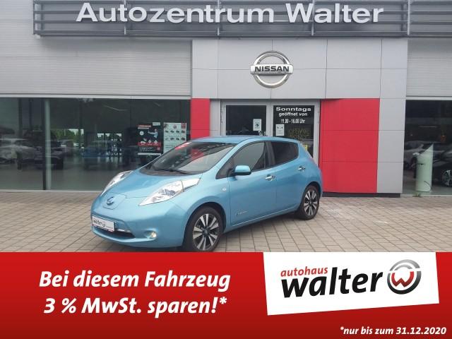 Nissan Leaf Tekna, 30kWh KAUF Batterie Klimaautomatik, Navi, Sitzheizung, Jahr 2016, Elektro