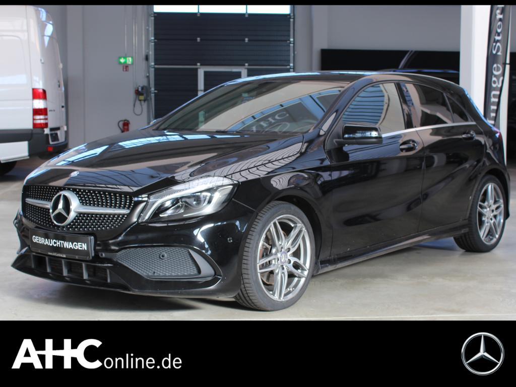 Mercedes-Benz A 220 d AMG+LED+MEMORY+PDC+NAVIGATION+SH+TEMPOM., Jahr 2015, Diesel