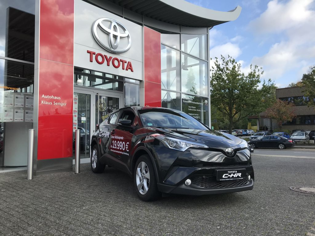 Toyota C-HR 1.2 Turbo Flow, Jahr 2019, petrol