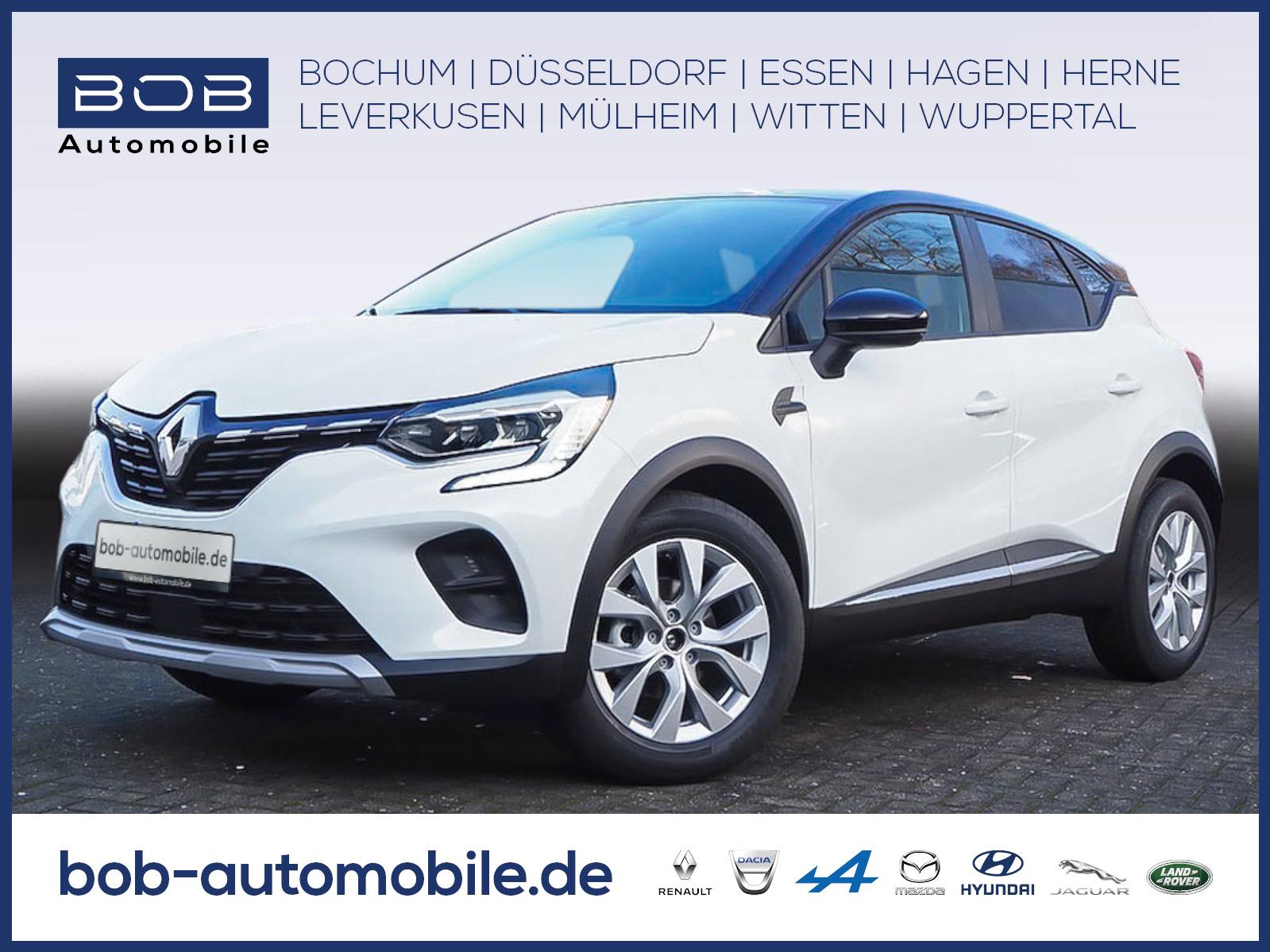 Renault Captur EXPERIENCE TCe 130 GPF NAVI SHZ PDC KLIMA, Jahr 2021, Benzin