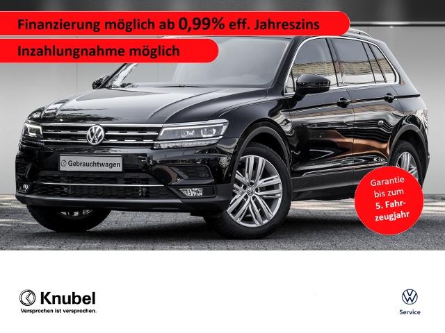Volkswagen Tiguan Highline 2.0 TDI 4M DSG Pano AHK St-Heiz., Jahr 2020, Diesel