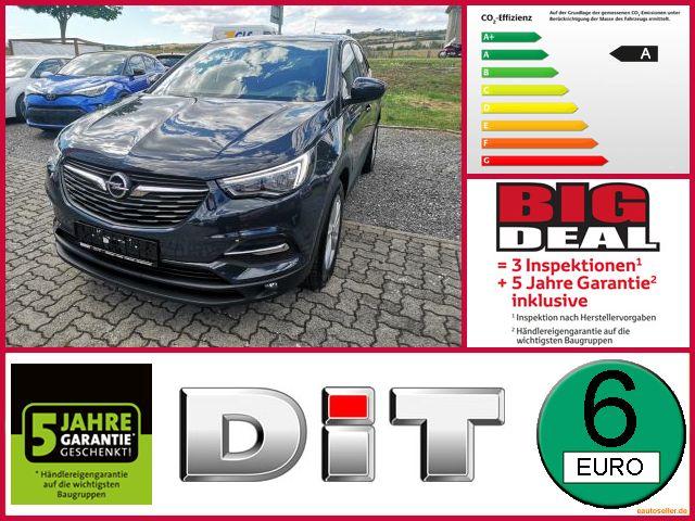 Opel Grandland X 1.6 D Edition Kamera Automatik Sitzh, Jahr 2017, Diesel