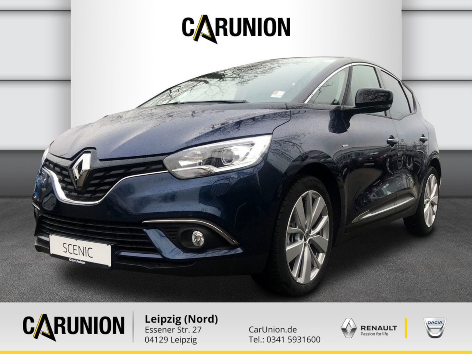 Renault Scenic LIMITED Deluxe TCe 140 EDC GPF, Jahr 2021, Benzin