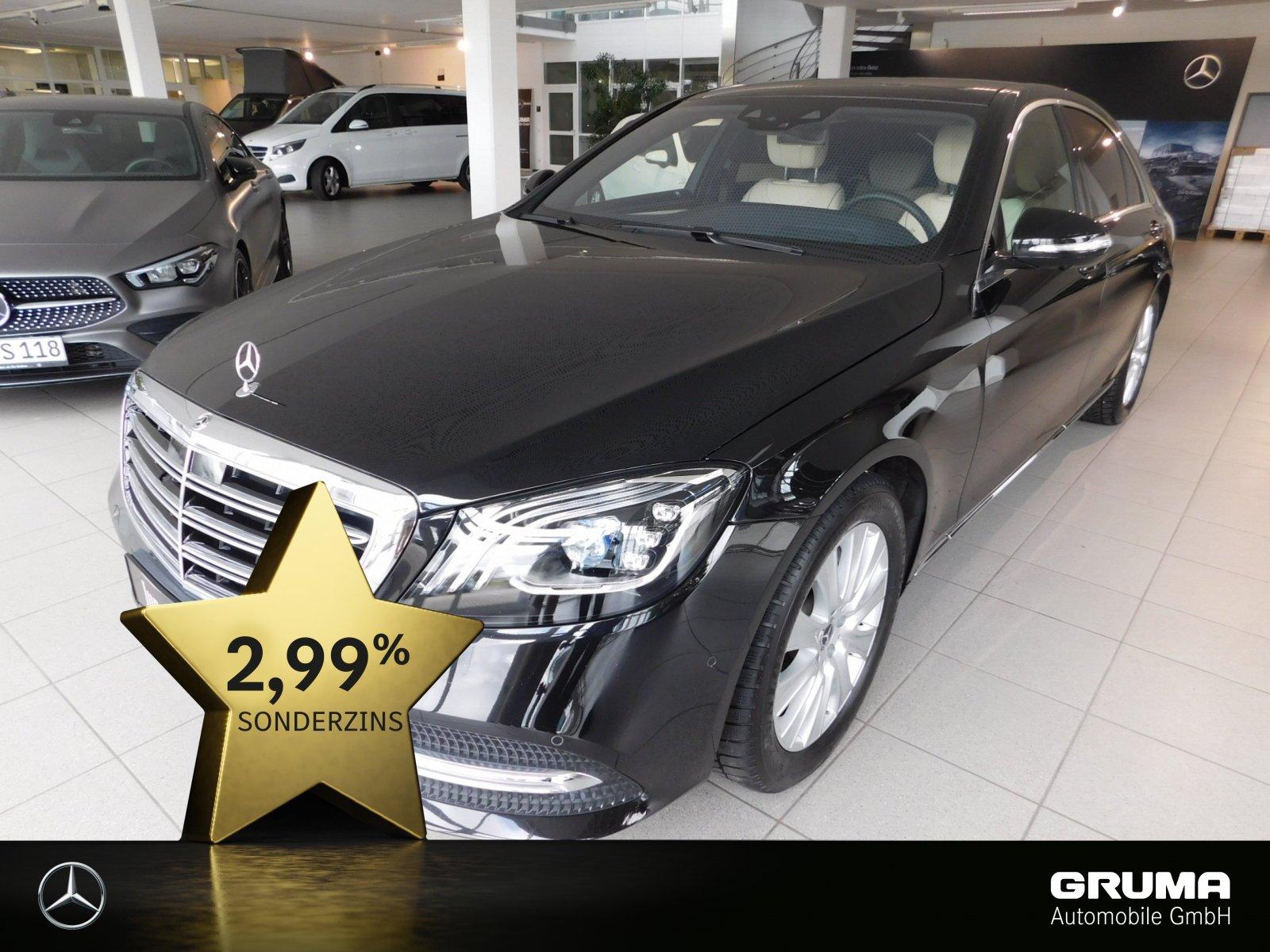 Mercedes-Benz S 350 d 4x4 L PANO+4xSITZKLIMA+MASSAGE+ENTERTAIN, Jahr 2019, Diesel