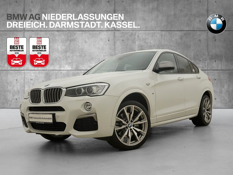 BMW X4 M40i Head-Up HK HiFi Xenon Spurwarng. GSD, Jahr 2017, Benzin