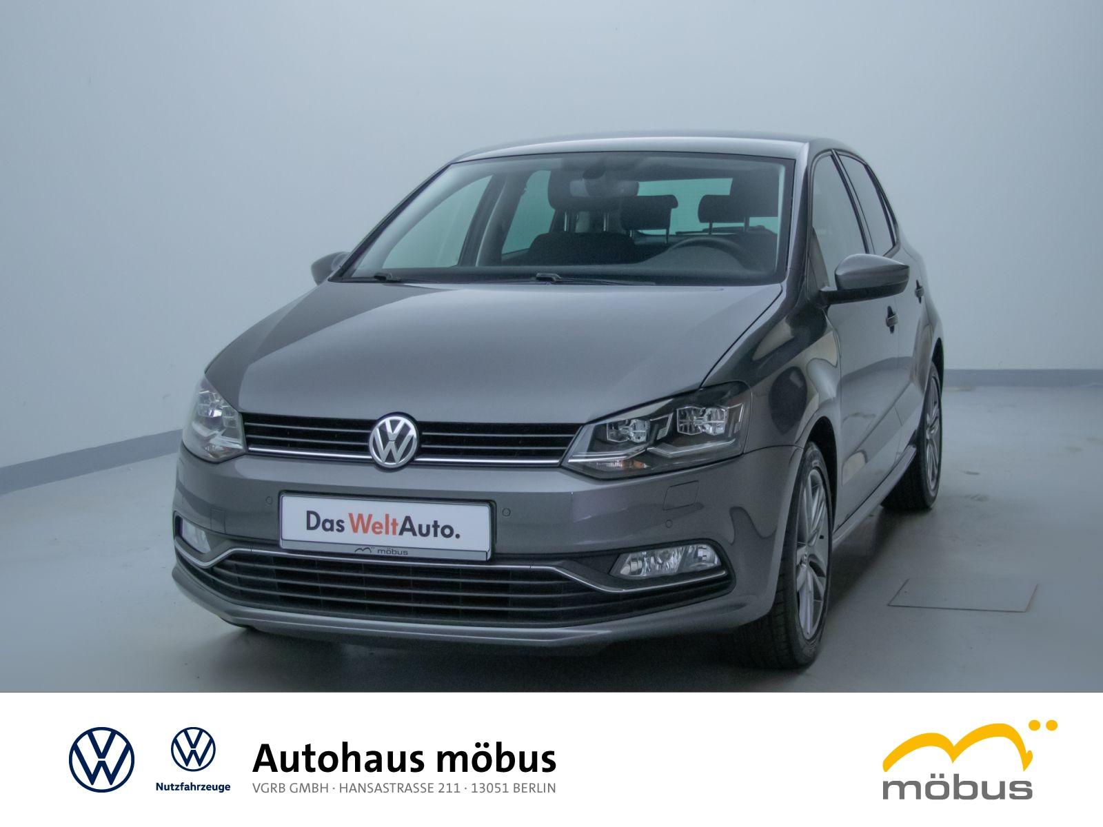 Volkswagen Polo 1.2 TSI DSG*ALLSTAR*LED*USB*KLIMA*NAVI*GRA*, Jahr 2017, Benzin