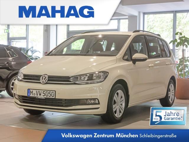 Volkswagen Touran 2.0 TDI SCR Trendline Klima Navi Funkvorbereitung 7-Gang-Doppelkupplungsgetriebe DSG, Jahr 2020, Diesel