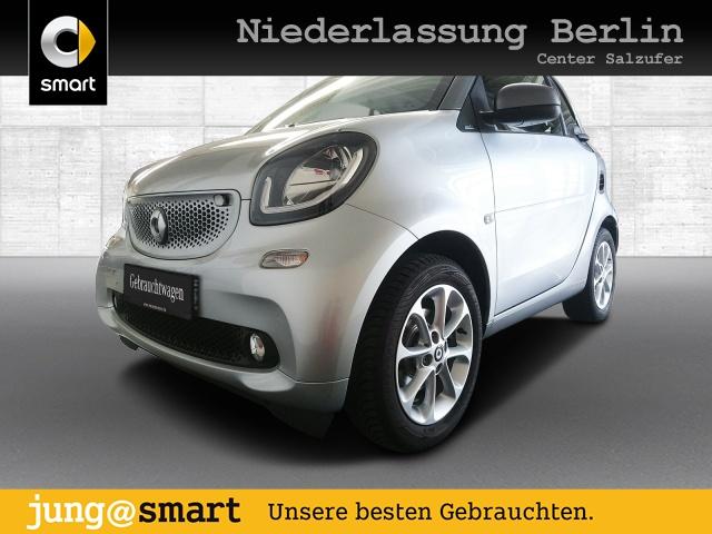 smart fortwo coupé 66kW passion DCT cool&Audio SHZ Pano, Jahr 2019, Benzin