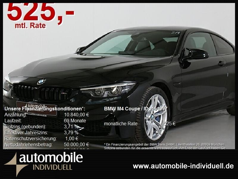 BMW M4 Coupe Competition Paket DKG HuD Navi LED VMax, Jahr 2020, Benzin