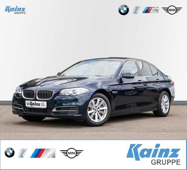 BMW 528i Navi/HUD/Sitze elektr/Standheizung/Leder/Driving Assistant/Adaptives Kurvenlicht, Jahr 2013, Benzin