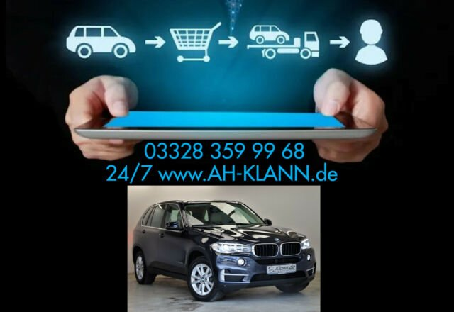 BMW X5 35i 306PS xDrive Navi Leder Erste Hand PDC, Jahr 2015, Benzin