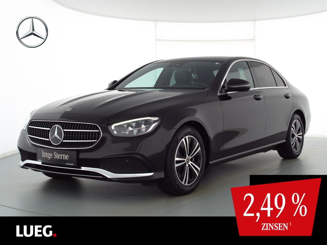 Mercedes-Benz E 200 Avantgarde+MBUXHighE+LED-HP+Totw+ParkA+RFK, Jahr 2021, Benzin