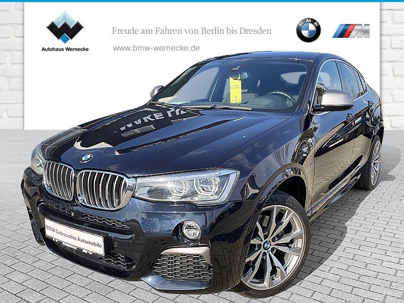 BMW X4 M40i M Sportpaket Head-Up HK HiFi DAB LED, Jahr 2018, Benzin
