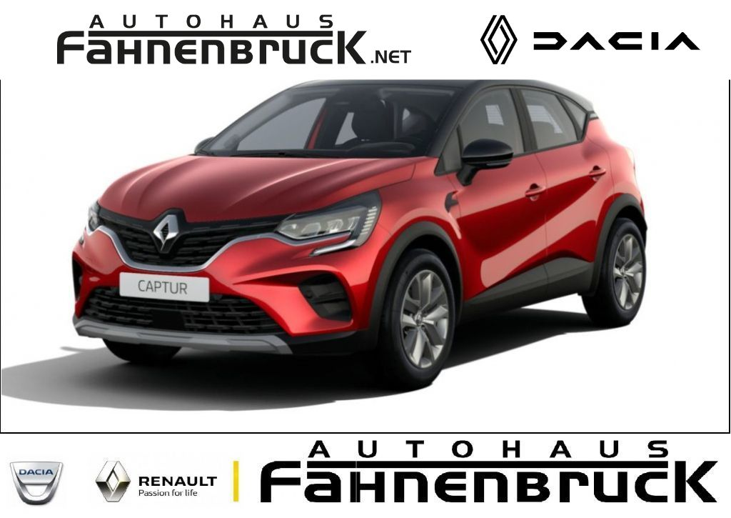 Renault Captur EXPERIENCE TCe 90 ABS Fahrerairbag ESP ZV, Jahr 2021, Benzin
