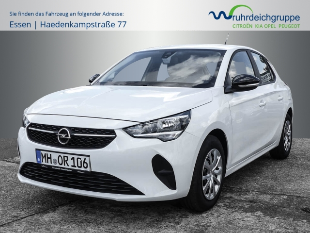 Opel Corsa F Edition 1.2+Radio R.40+LHZ+SHZ+PDC+DAB+, Jahr 2020, Benzin