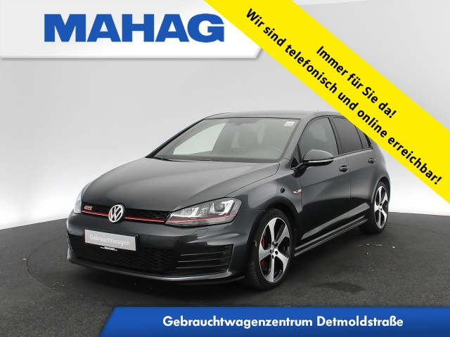 Volkswagen Golf VII GTI Performance 2.0 TSI Xenon DYNAUDIO DAB+ ParkPilot LightAssist 18Zoll 6-Gang, Jahr 2016, Benzin