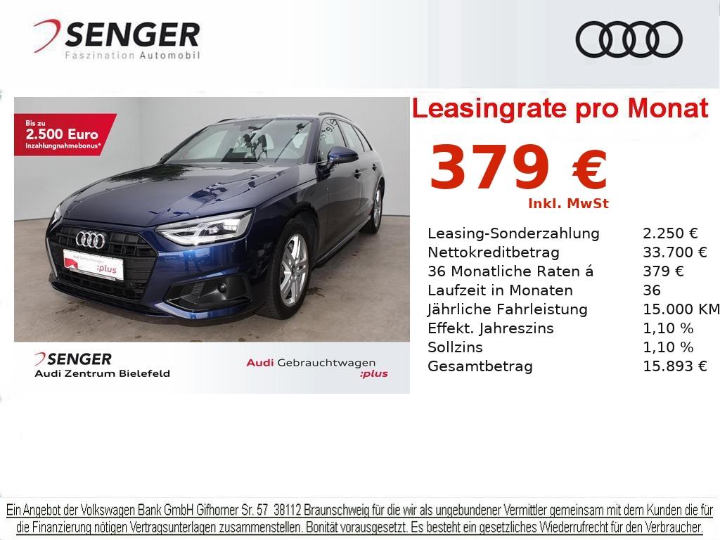 Audi A4 Avant Sport 40 TDI Navi Memory LED Sitzhzg., Jahr 2020, Diesel