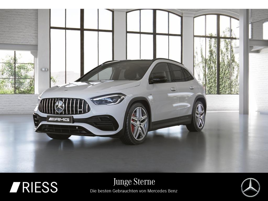 Mercedes-Benz GLA 45 S 4M AMG Night Drivers Pano MBUX Navi LED, Jahr 2020, Benzin