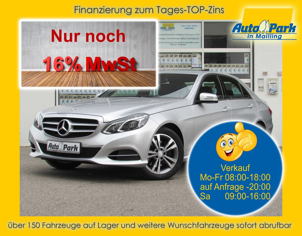 Mercedes-Benz E250 BT Avantgarde Aut. NAVI~LED~SHD~SHZ~PDC~ALU, Jahr 2016, Diesel