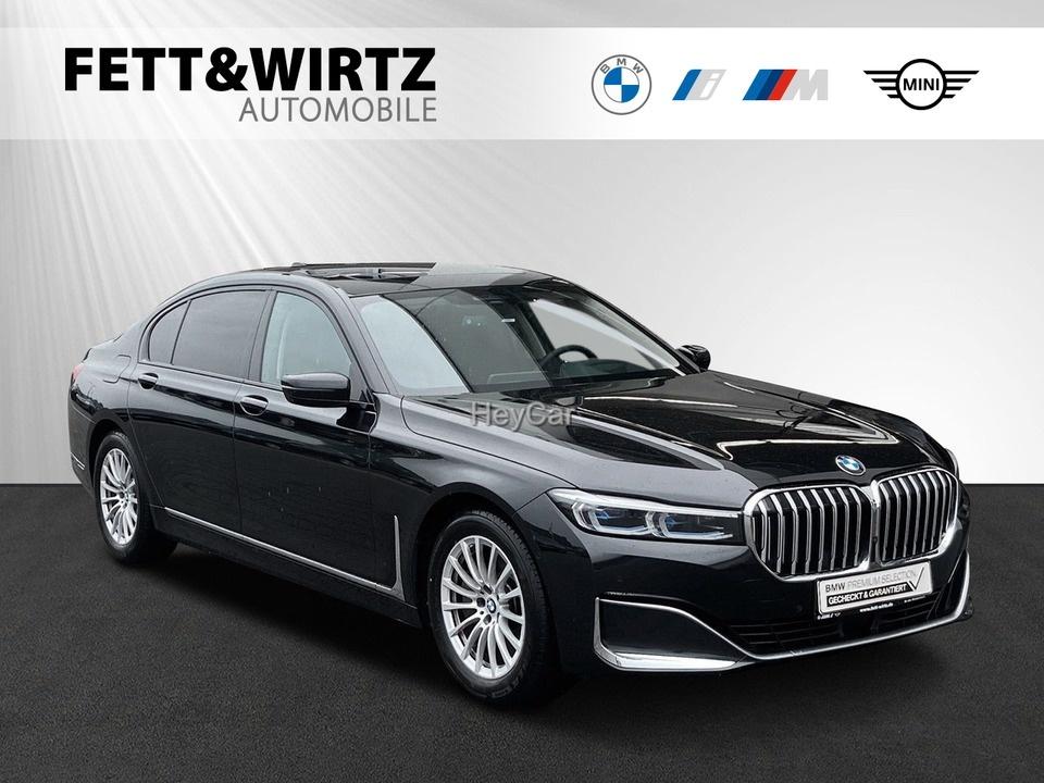 BMW 745Le xDrive H/K GSD TV+ Night-Vis. Fond-Entert., Jahr 2020, Hybrid