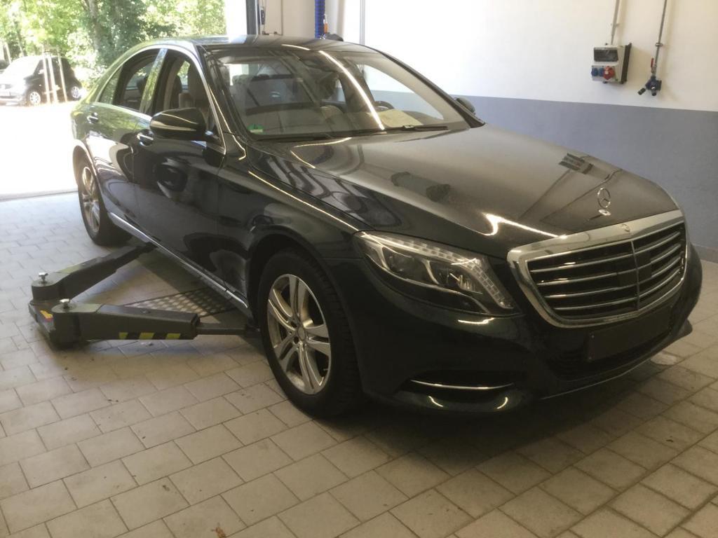 Mercedes-Benz S 350 d 4M Distronic StHzg Fond-TV Sitzklima HUD, Jahr 2016, diesel