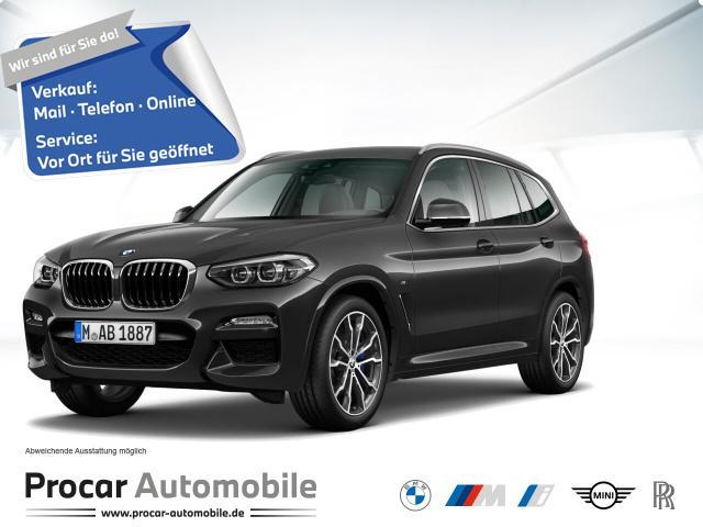 BMW X3xDrive30i MSPORT+NAVI+HARMANKA+ParkASSI+20ZOLL, Jahr 2020, Benzin