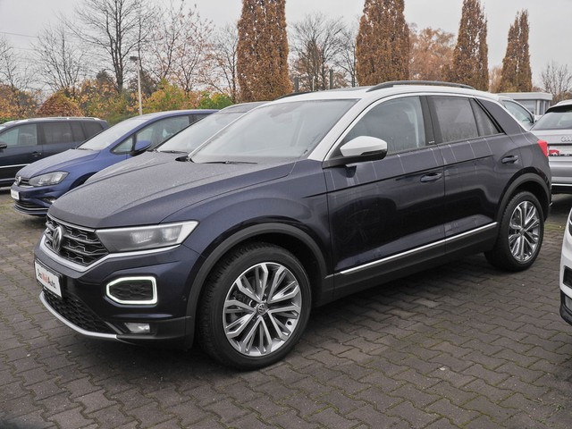 Volkswagen T-ROC IQ.DRIVE 2.0 TDI 4Motion Navi LED Pano DAB Kamera 3 Jahre Anschlussgarantie, Jahr 2019, Diesel