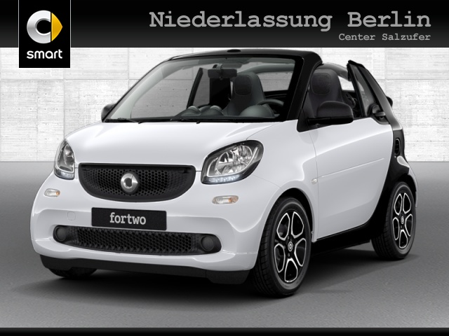 smart fortwo cabrio 52kW passion DCT cool&Audio SHZ, Jahr 2019, Benzin