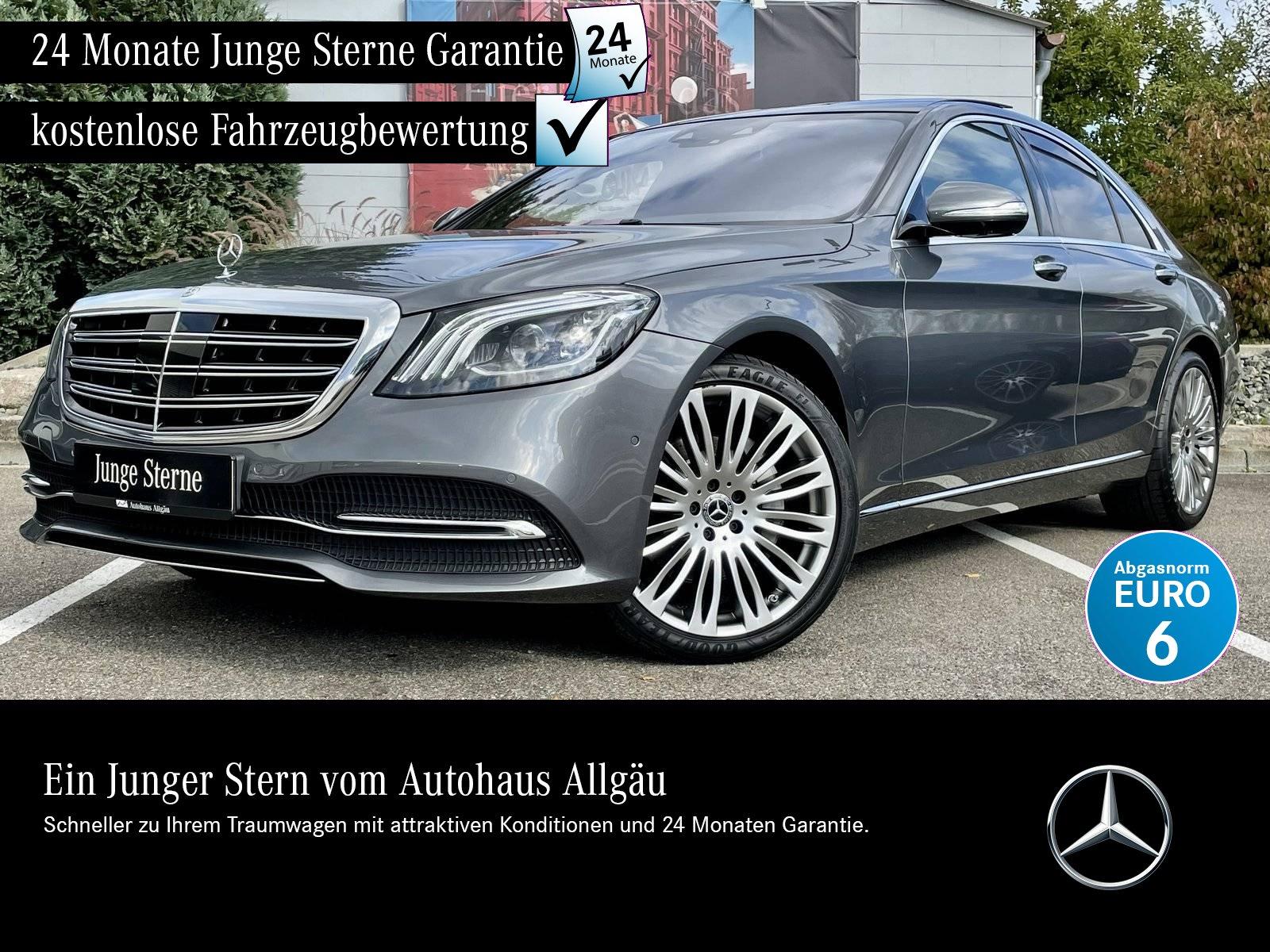 Mercedes-Benz S 350 d 4M SITZKLIMA+HEAD-UP+PANO+BURMESTER+360°, Jahr 2018, Diesel