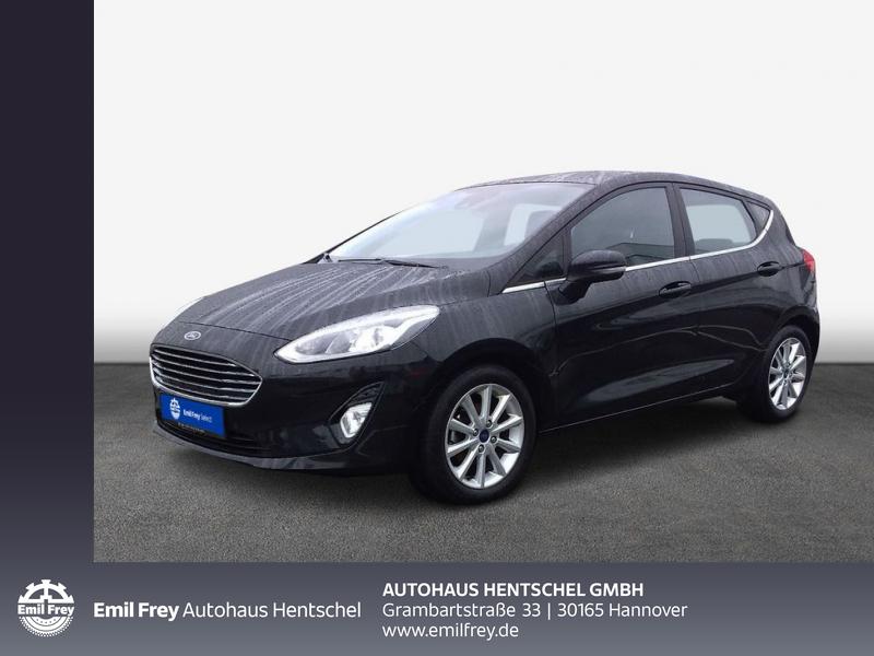 Ford Fiesta 1.0 EcoBoost S&S TITANIUM Paket: Easy Driver II, Jahr 2018, Benzin