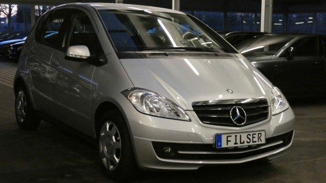 Mercedes-Benz A 160*8-fach*SHZ* *Klimaanlage*BlueEFFICIENCY*, Jahr 2012, petrol