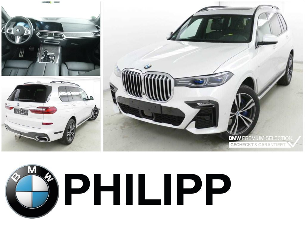BMW X7 xDrive30d M Sportpaket Laser St.Hzg Sky AHK, Jahr 2020, Diesel
