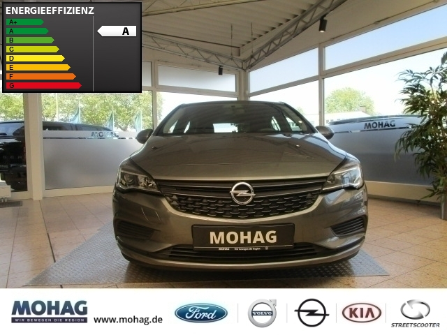 Opel Astra Selection Start Stop 1.0l Turbo *LED-Klima* -Euro 6-, Jahr 2016, Benzin
