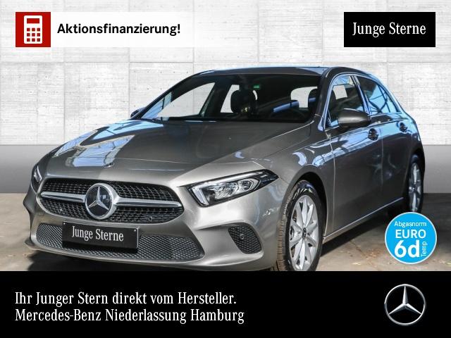 Mercedes-Benz A 250 4M Progressive Navi Premium Distr. LED AHK, Jahr 2019, Benzin