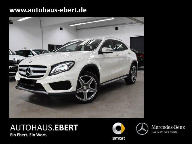 Mercedes-Benz GLA 200 AMG NAVI+ILS+RFK+TOTW+EASY-PACK, Jahr 2015, Benzin
