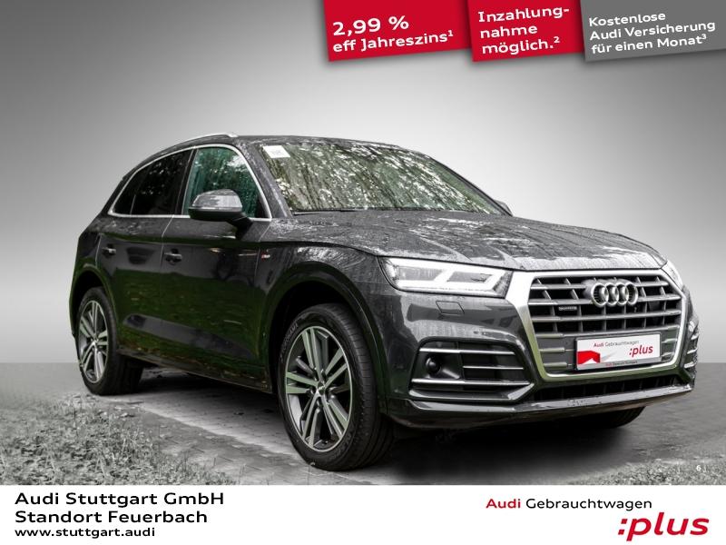 Audi Q5 Sport 2.0 TDI quattro S line LED Pano AHK ACC, Jahr 2018, Diesel