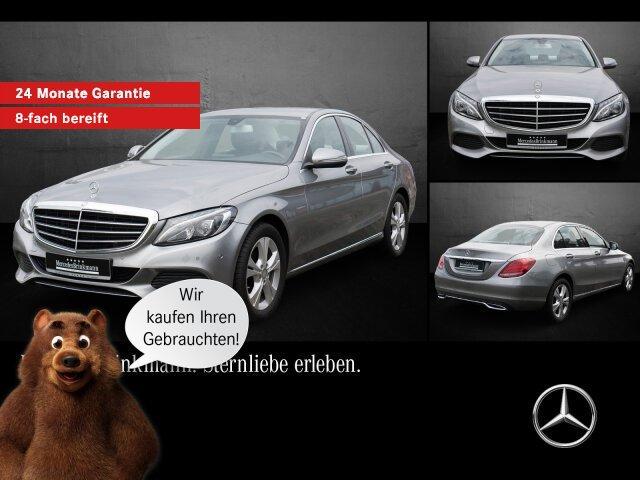 Mercedes-Benz C 200 d EXCLUSIVE Exterieur/Navi/LED/Parktronic, Jahr 2015, Diesel